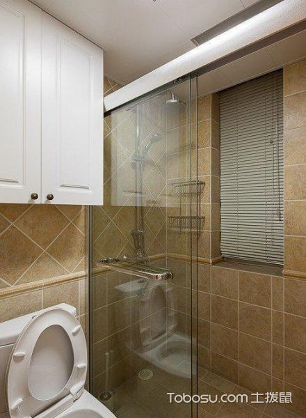 2020簡歐浴室設計圖片 2020簡歐淋浴房設計圖片