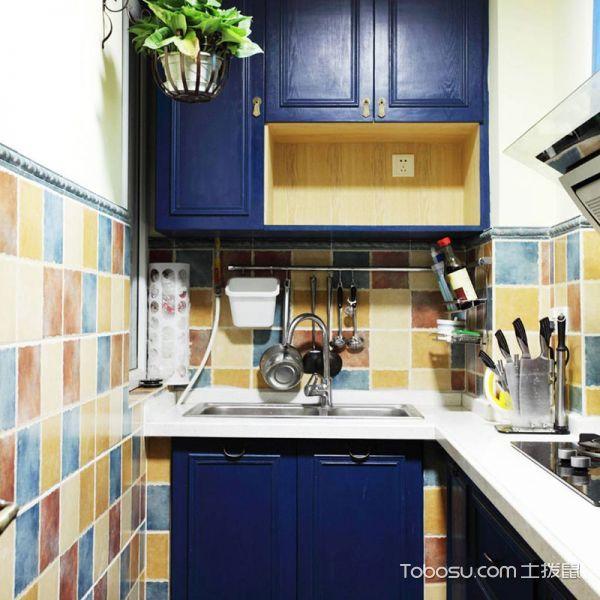2020东南亚厨房装修图 2020东南亚橱柜装修效果图片