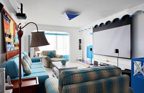 85平米二居室地中海风格装修案例