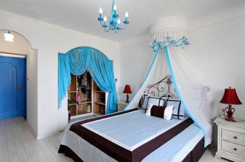 2019地中海卧室装修设计图片 2019地中海背景墙装饰设计