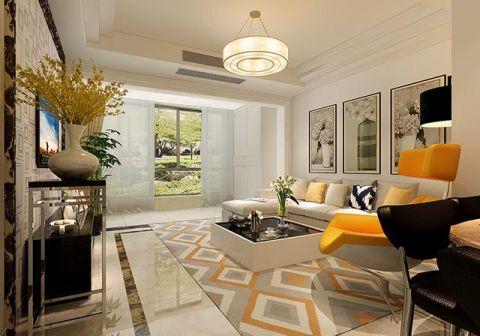 86平米小户型简约风格室内装修设计