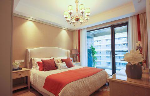 卧室床简约室内装修图片