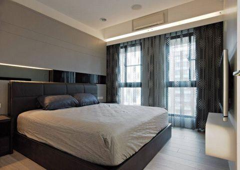 卧室床现代简约装修案例