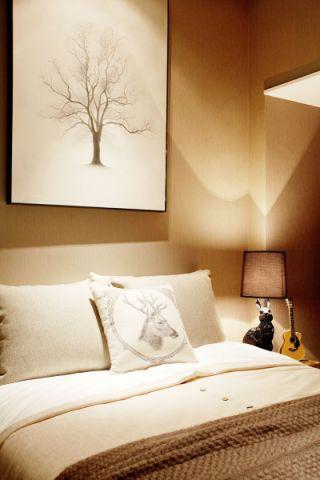 舒适灰色背景墙装修图