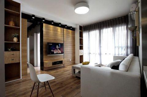 現代簡約風格小戶型80平米家裝設計