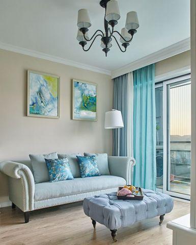 109平米小户型美式风格室内装修设计