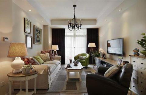 简约客厅美式设计图片