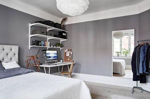2019美式90平米装饰设计 2019美式四居室装修图