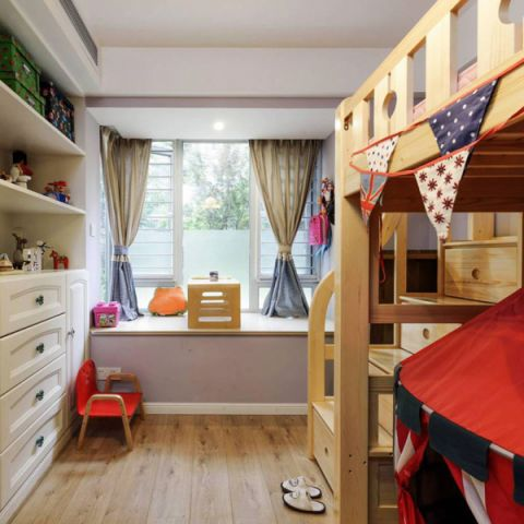 华丽儿童卧室装修实景图