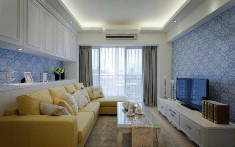 客厅沙发美式装修效果图