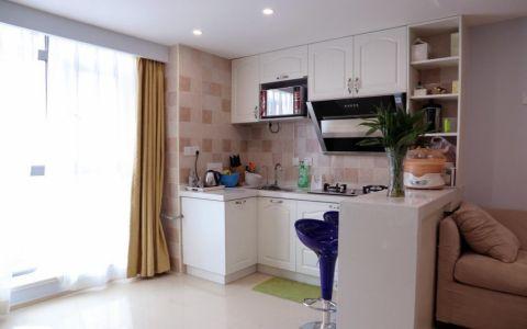 精雕细刻厨房灶台装潢实景图