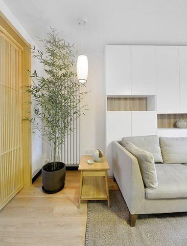 高贵风雅客厅现代简约效果图图片