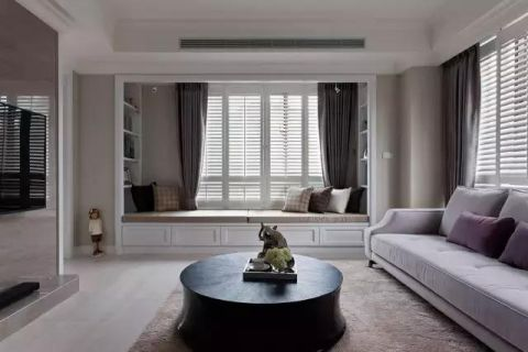 奢华客厅美式家装设计图