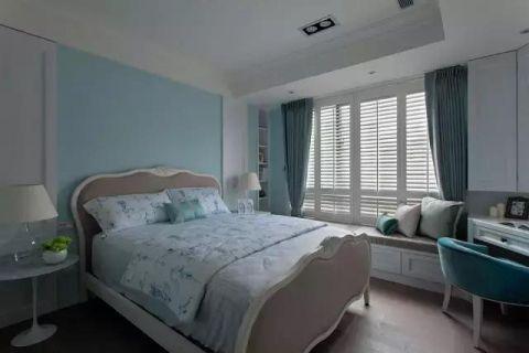 2020美式卧室装修设计图片 2020美式飘窗图片