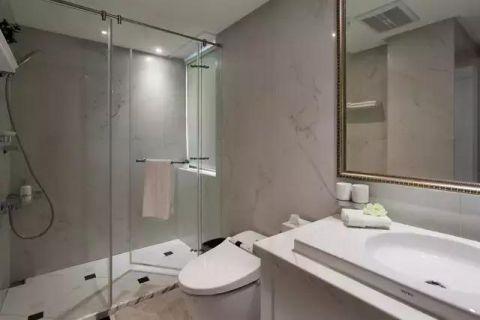 2019美式浴室设计图片 2019美式淋浴房设计图片