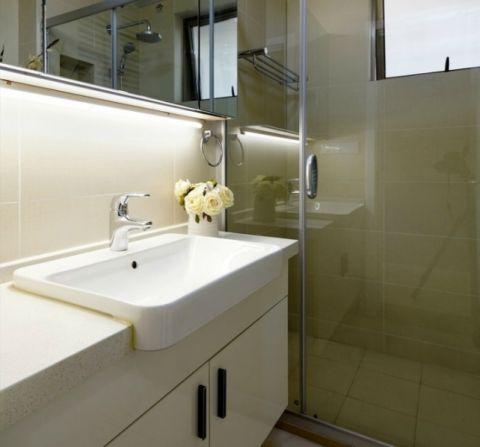 浴室隔断简约设计图欣赏