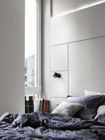 卧室床头柜现代室内装修图片