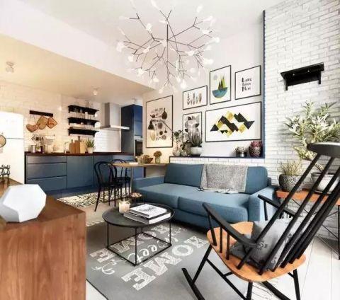 111平米三居室现代风格装饰图