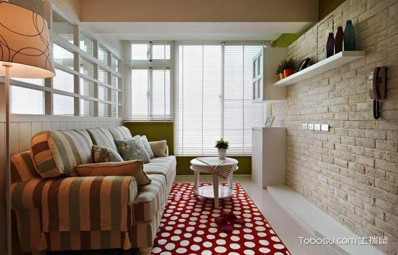 2020乡村客厅装修设计 2020乡村沙发装修设计