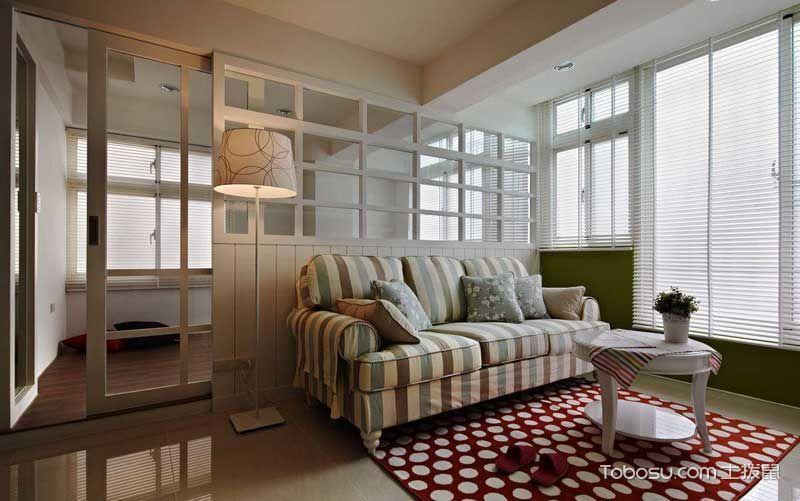 2021乡村70平米设计图片 2021乡村二居室装修设计