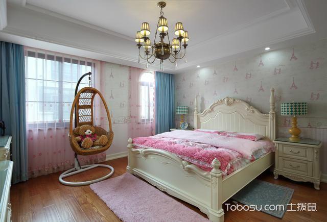 2020乡村卧室装修设计图片 2020乡村灯具装饰设计