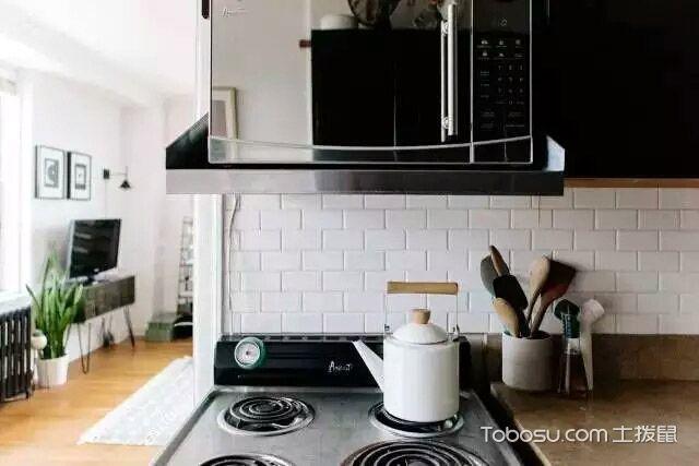 2019简约厨房装修图 2019简约灶台装修图片