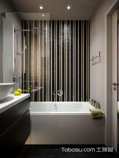 2020简约浴室设计图片 2020简约浴缸装修效果图大全