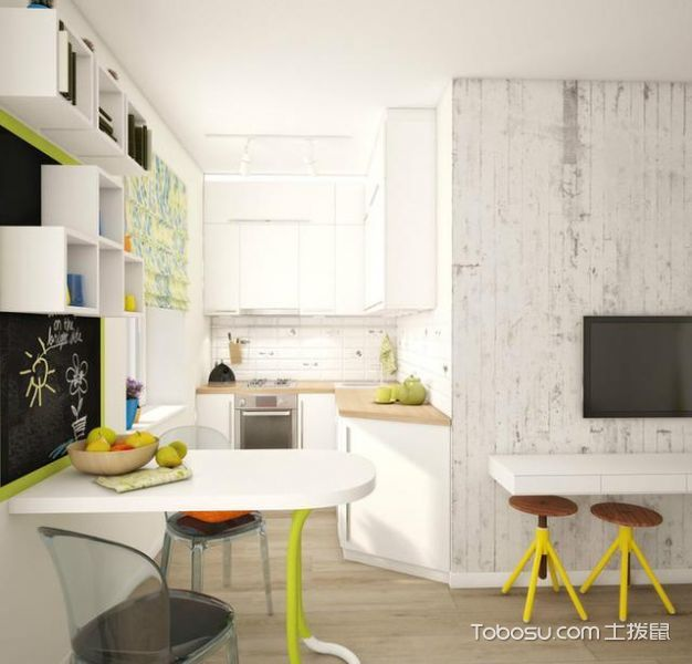2020現代簡約60平米以下裝修效果圖大全 2020現代簡約一居室裝飾設計