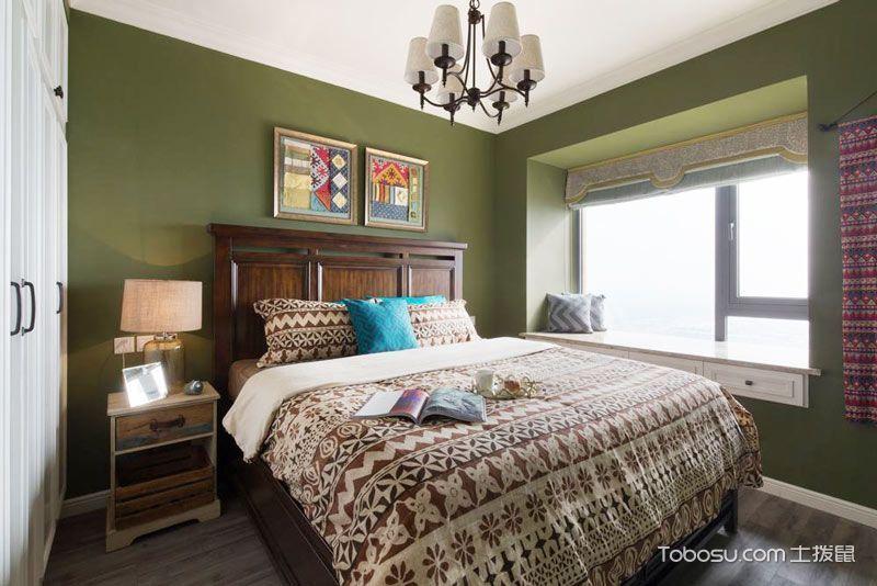 70平米二居室美式风格案例图