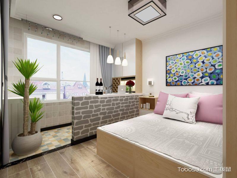 80平米公寓简约风格平面图