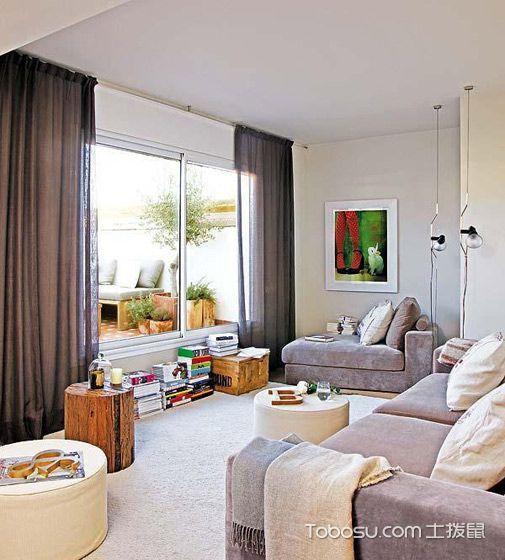 2019现代60平米以下装修效果图大全 2019现代一居室装饰设计