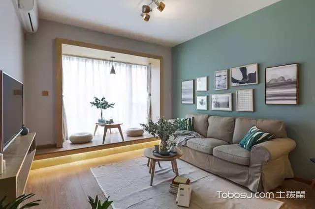 2019北欧60平米以下装修效果图大全 2019北欧一居室装饰设计