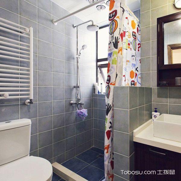 2020混搭浴室設計圖片 2020混搭淋浴房設計圖片