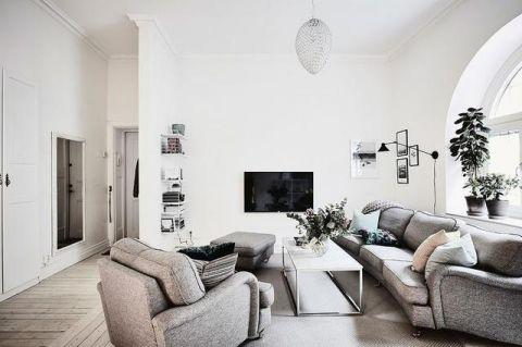 2020北欧70平米设计图片 2020北欧一居室装饰设计