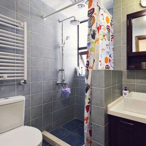 2019混搭浴室设计图片 2019混搭淋浴房设计图片