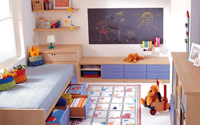 儿童房样板间