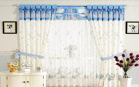 儿童房窗帘