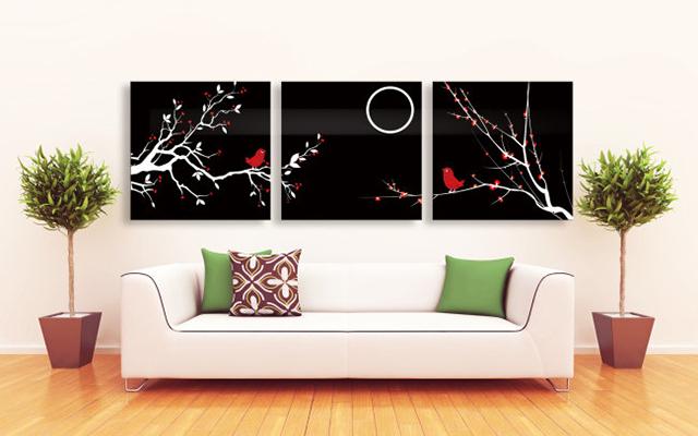 选择合适的装饰画,不仅能够为整体的家装布局起到画龙点睛的效果,更能图片