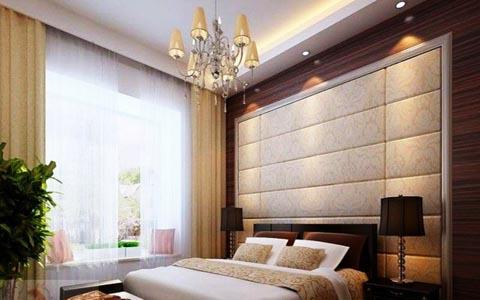 卧室软包床头背景墙