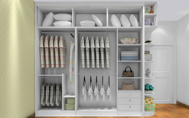 卧室衣柜尺寸 6大区域全方位考量图片