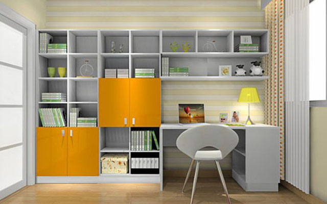 儿童书柜,如何挑选才能实用装饰两不误图片