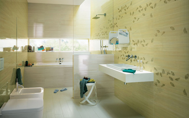浴室贴砖效果图