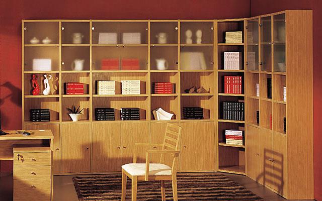 书柜设计4大要点,提高书房整齐度图片