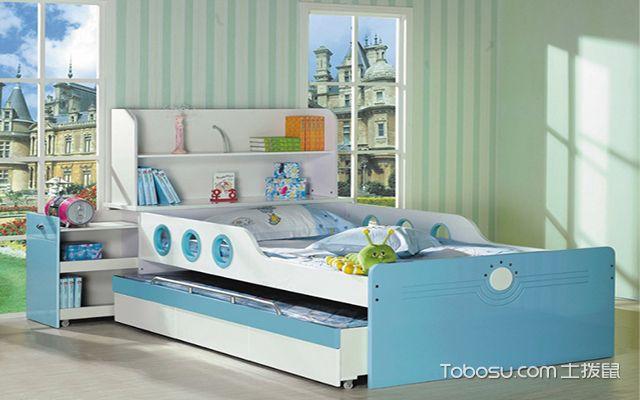 儿童床摆放
