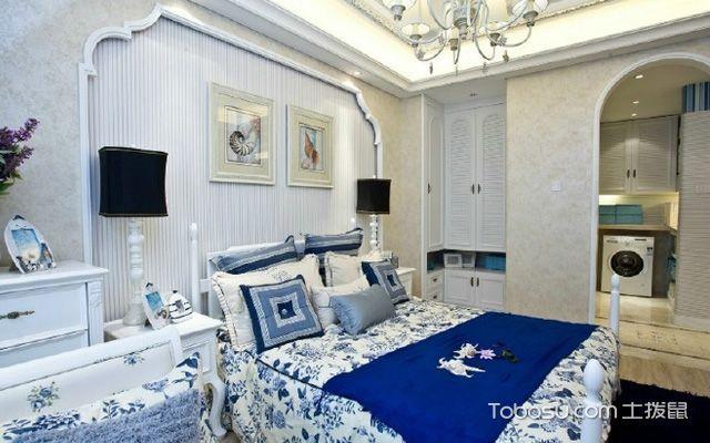 地中海卧室装修效果图