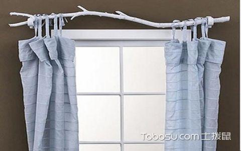 窗帘杆安装高度