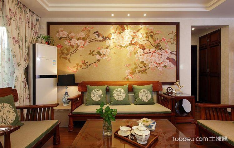 客厅背景墙设计成这样才叫美