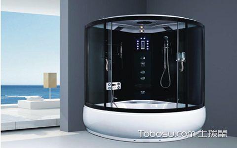 整体淋浴房安装效果图