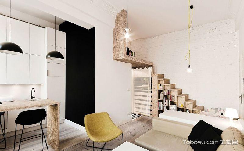 完美家装治愈系尽在北欧风格客厅装修效果图