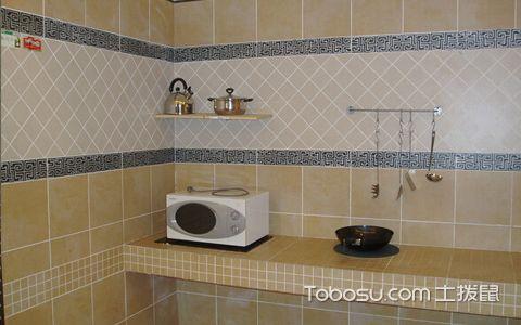 厨房瓷砖装修效果图